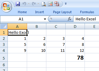 Formatting result in Excel